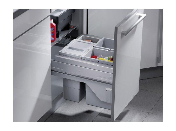 Vestavný odpadkový koš Hailo CARGO Soft 3610-49
