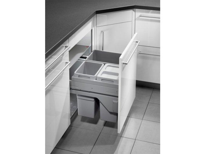 Vestavný odpadkový koš Hailo EURO CARGO S 3610-63