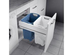 Vestavný prádelní koš Hailo Laundry Carrier 3270-45