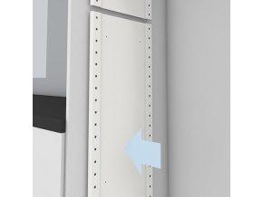 Nosný stěnový panel malý Hailo 3271-60