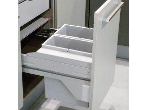 Vestavný odpadkový koš Hailo CARGO Soft 3610-48