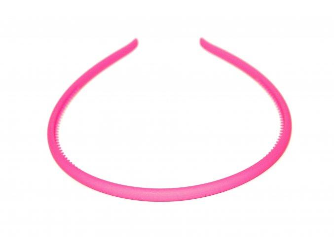 čelenka světle růžová kaučuková