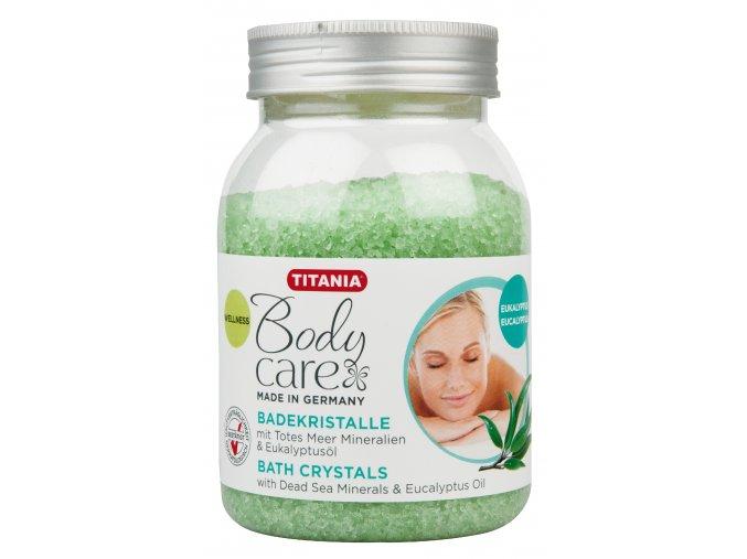 Relaxační sůl - eukalyptus