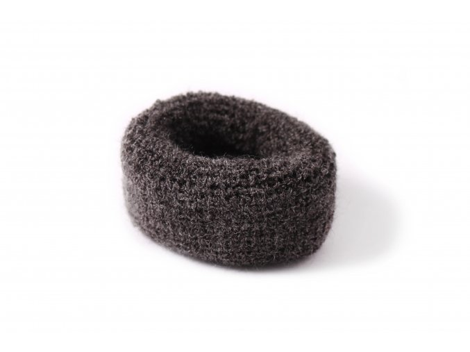 gumičky froté šedé