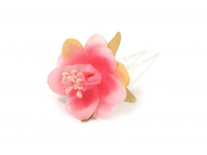 vlásenka s květem