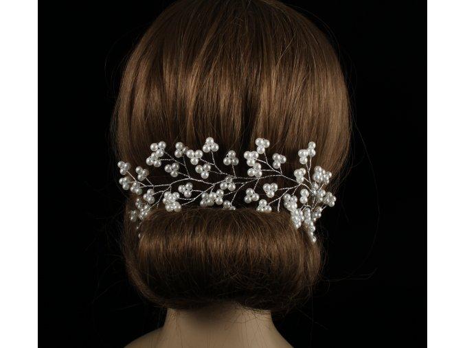 Ozdoba do vlasů z perliček