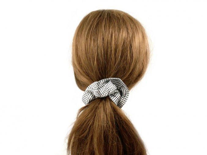 Látková gumička do vlasů