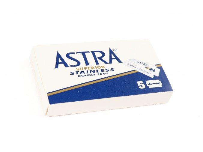 Žiletky Astra modré