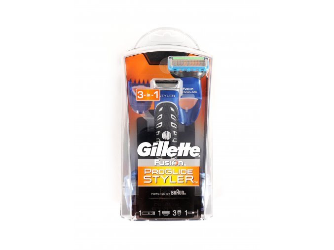 Holící strojek a zastřihávač Gillette fusion 3 v 1