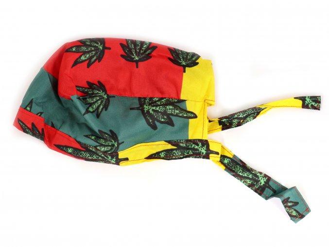 Pirátský šátek na hlavu