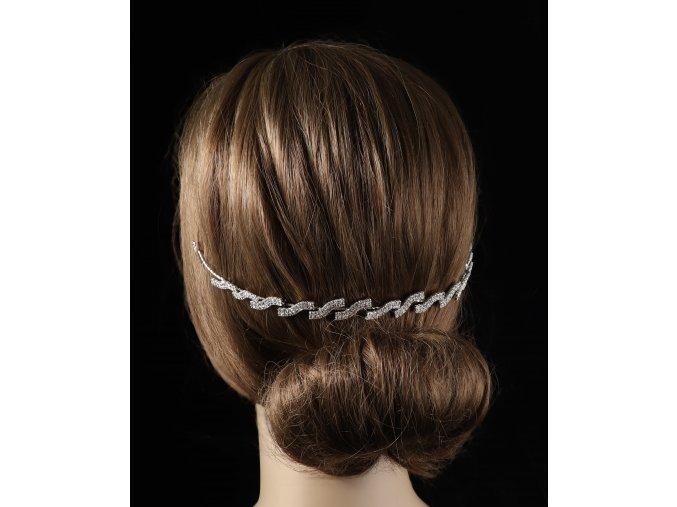 Štrasová ozdoba do vlasů