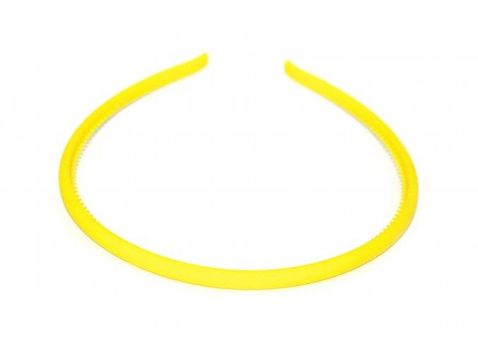 Čelenka žlutá kaučuková