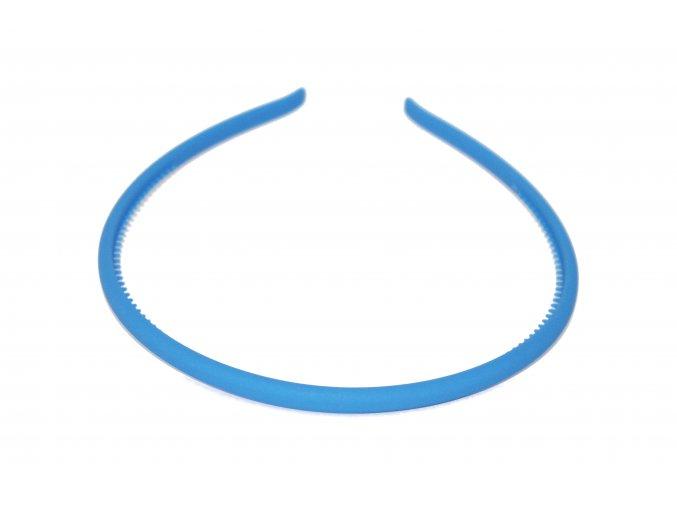 Čelenka světle modrá kaučuková
