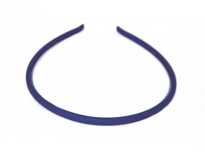 Čelenka tmavě modrá kaučuková