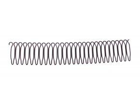 Kovové vlásenky spojené do hřebínku