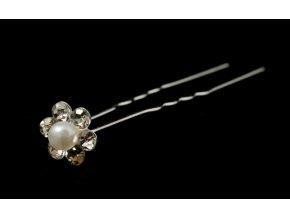 Vlásenka - kamínky a perlička