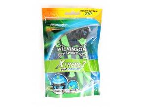 Pánský strojek WILKINSON Xtreme 3 Duo comfort, 4 kusy