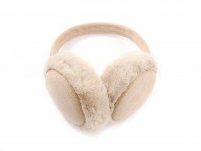 Plyšové klapky na uši