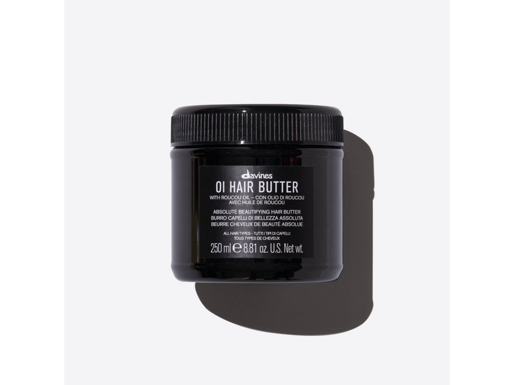 76038 OI Hair Butter 250ml Davines 2000x