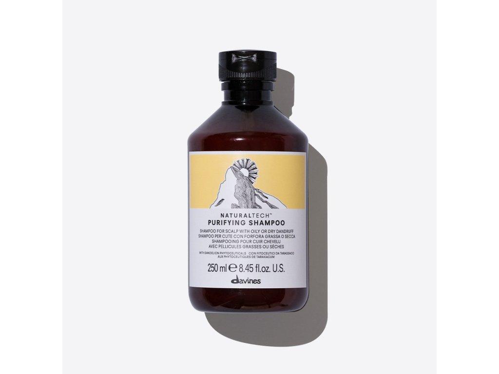 71212 NATURALTECH PURIFYING shampoo 250ml davines 2000x