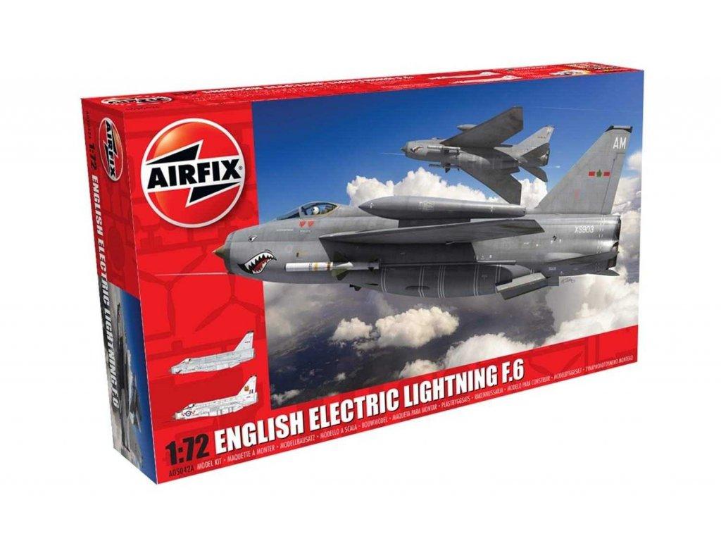 Classic Kit letadlo A05042A - English Electric Lightning F6 (1:72)