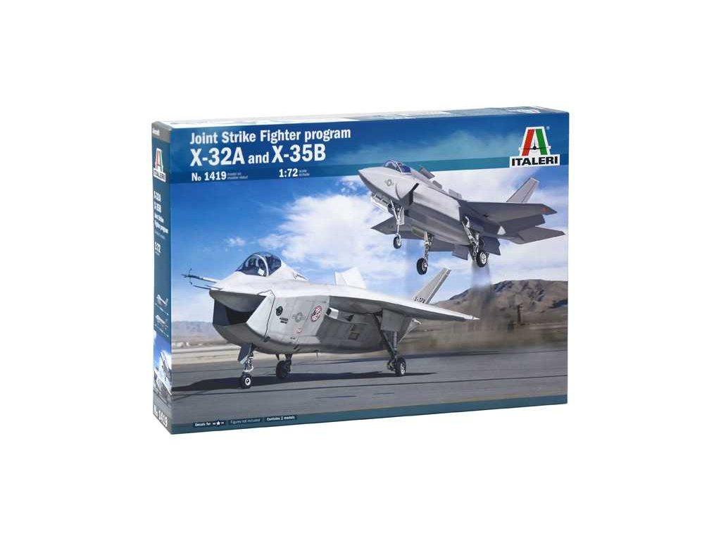 Model Kit letadla 1419 - JSF Program X-32A and X-35B (1:72)