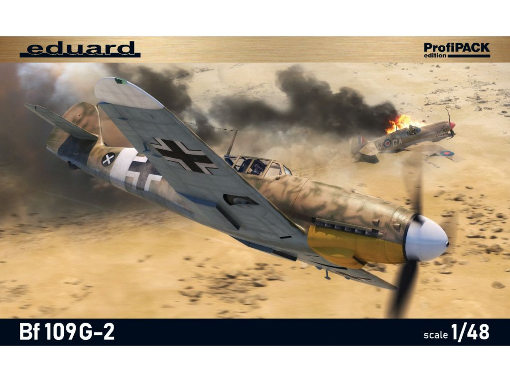 82165 Bf109G 2 BOX front