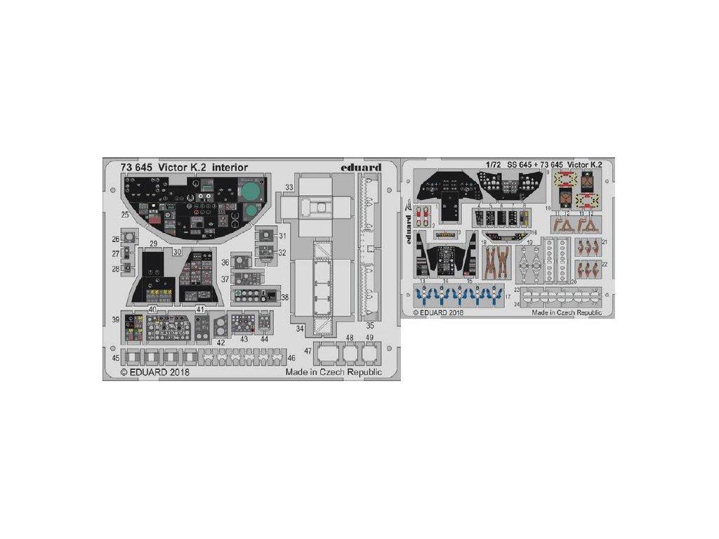 EDU73645 Victor K.2 interior 1 72 Airfix