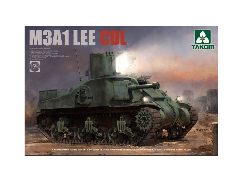 2115 M3A1 Lee CDL