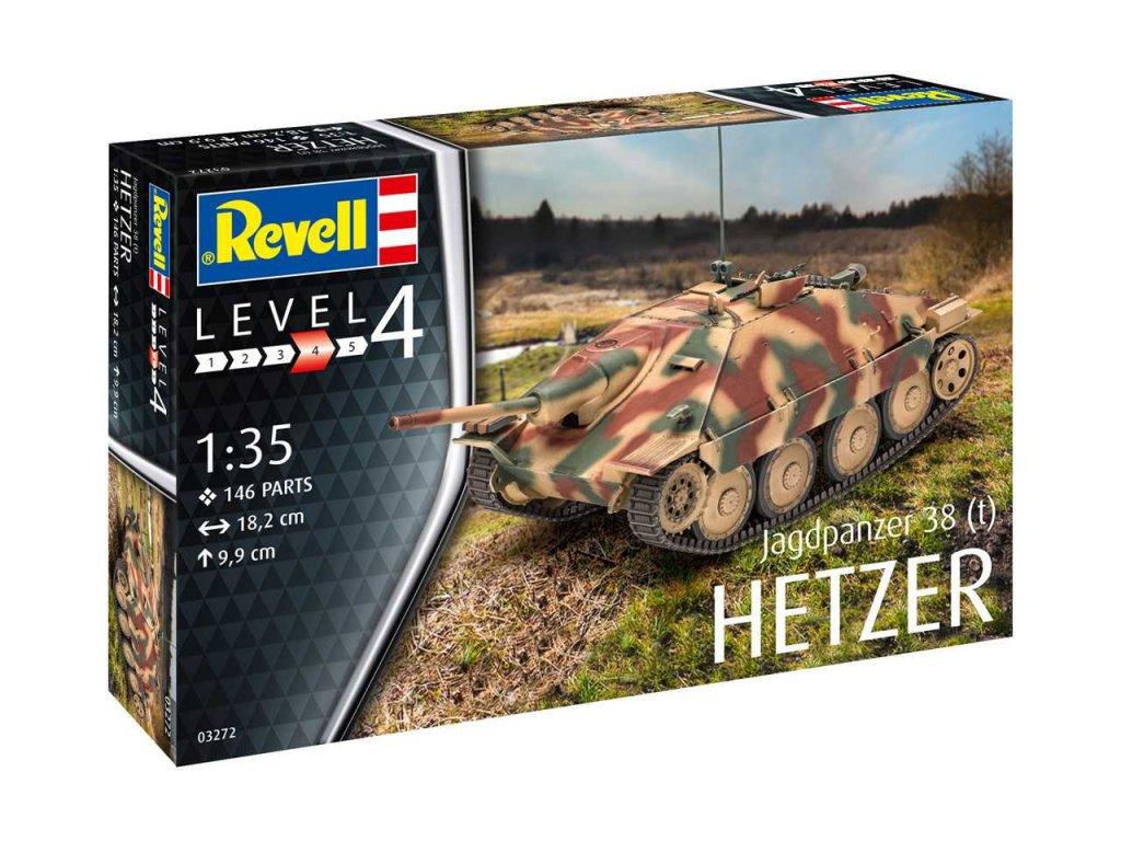 Plastic ModelKit  military 03272 - Jagdpanzer 38 (t) HETZER (1:35)