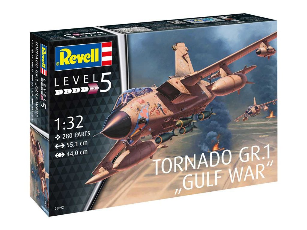"Plastic ModelKit letadlo 03892 - Tornado GR Mk. 1 RAF ""Gulf War"" (1:32)"