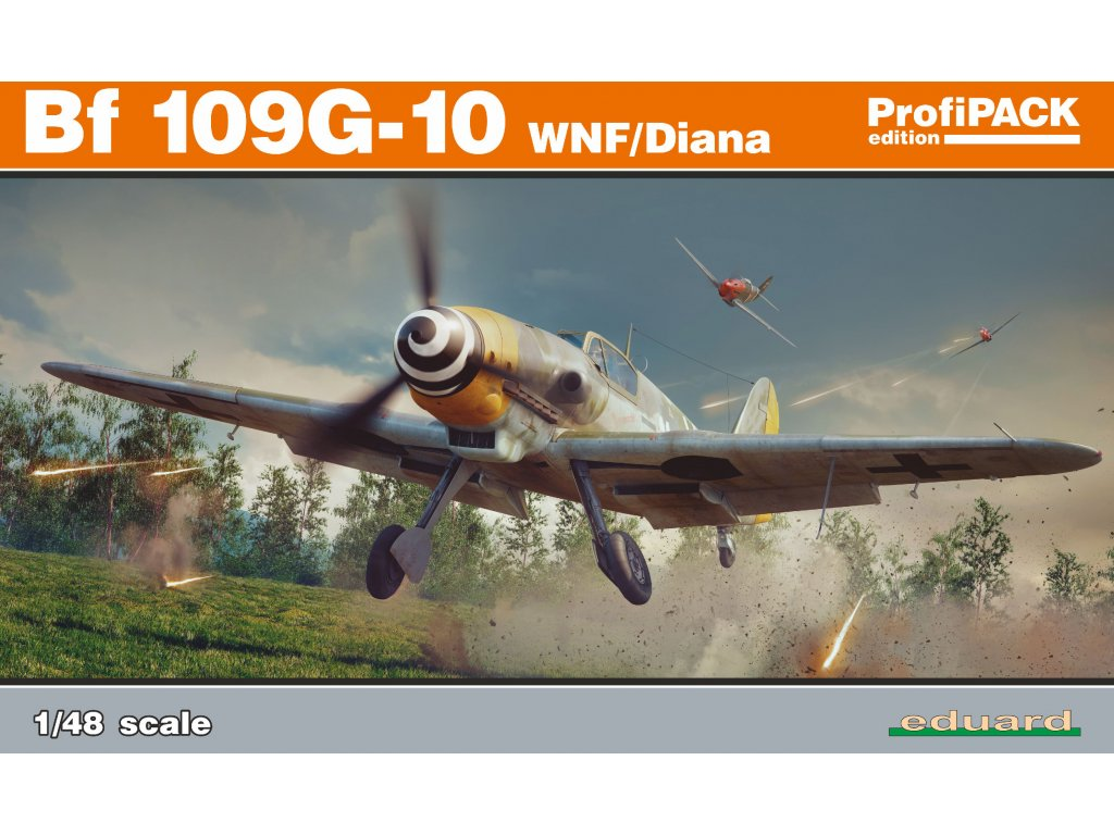 1/48 Bf 109G-10 WNF/Diana (Profipack)