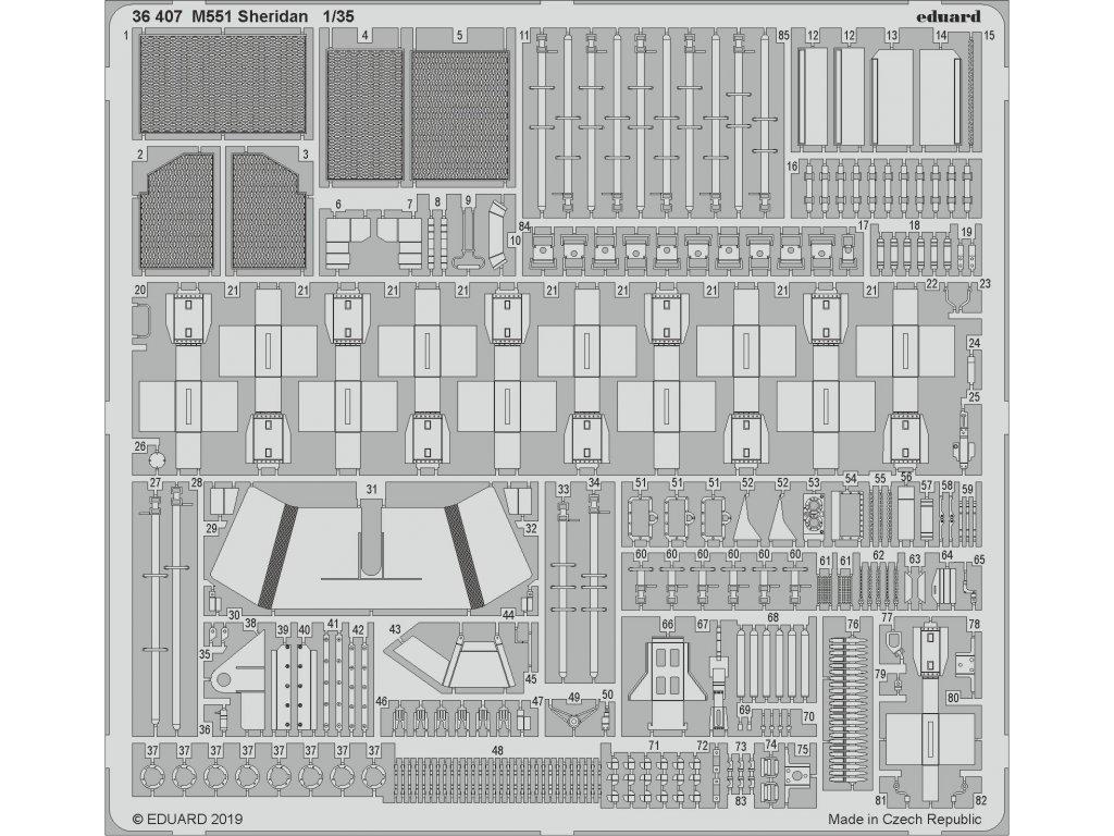1/35 M551 Sheridan (TAM)