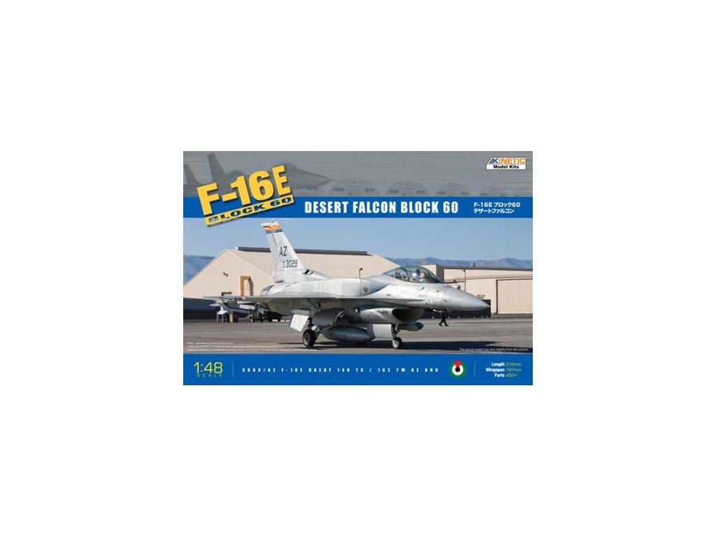 KIN48029 F 16E UAE with CFT block 60 Desert Falcon