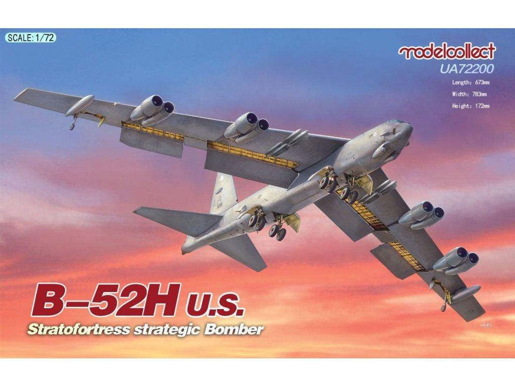 UA72200 b 52h us stratofortress strategic bomber