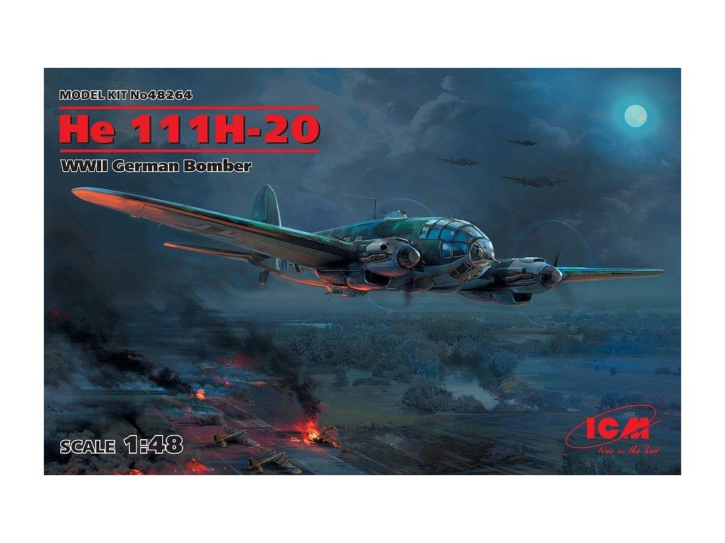 ICM 48264 Heinkel He 111H 20