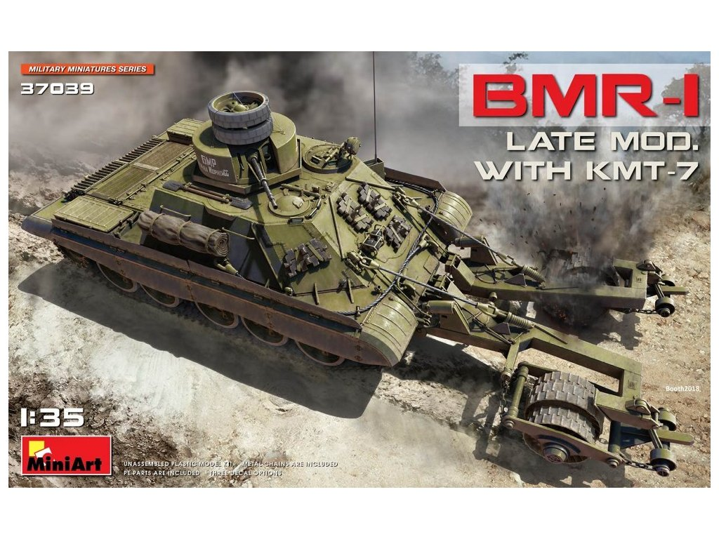 MINA37039 BMR 1 Late mod. with KMT 7