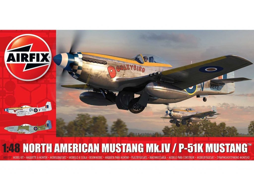A05137 - North American Mustang Mk.IV
