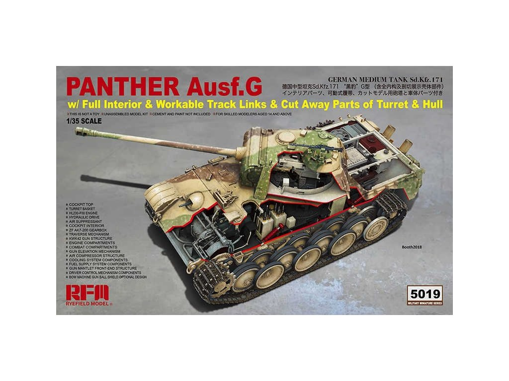 1 35 Ryefild Model RM5019 Panther Ausf G Model hobby.jpg q50
