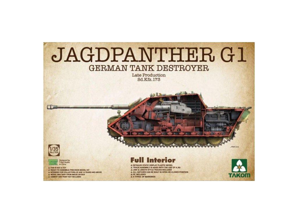 2106 German Tank Destroyer Jagdpanther G1