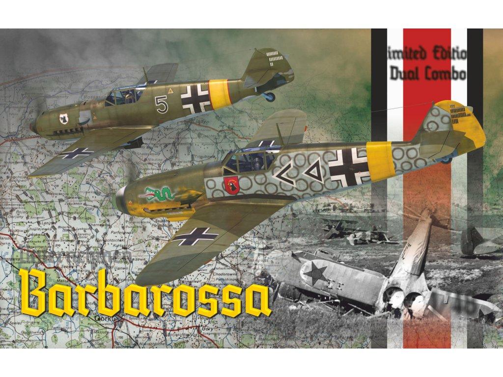 EDU11127 Barbarossa Bf 109 E Bf 109 F