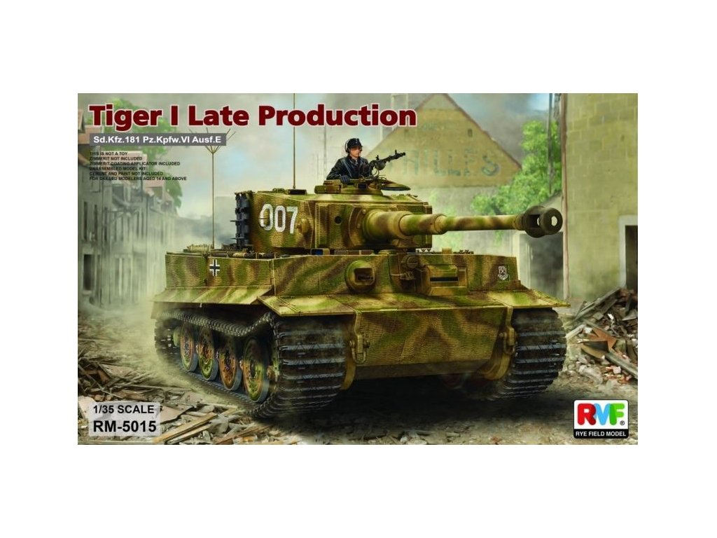RM5015 Tiger I late production