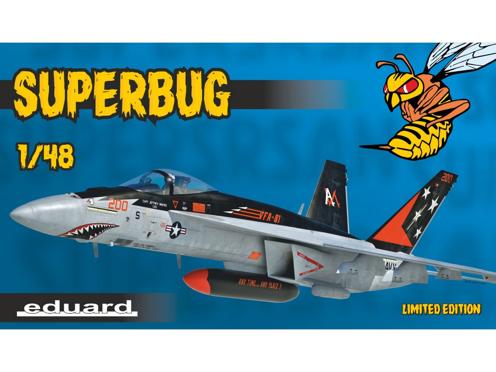 1/48 Superbug (F/A-18E Limited Edition)