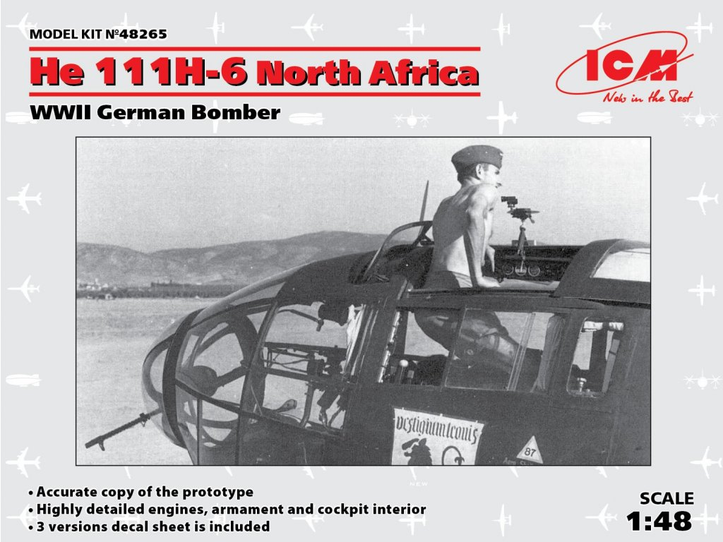 ICM48265 He 111H 6 Africa