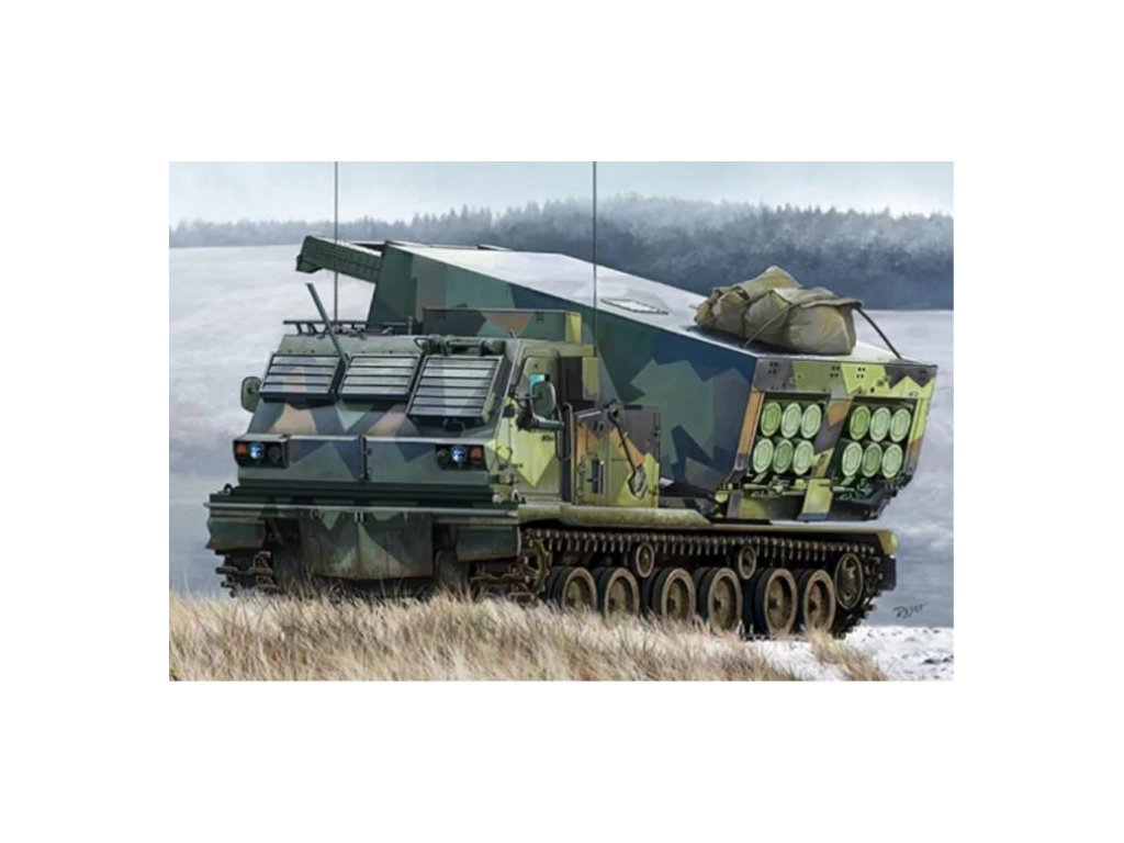 01048 M270 A1 Multiple Launch Rocket System Norway