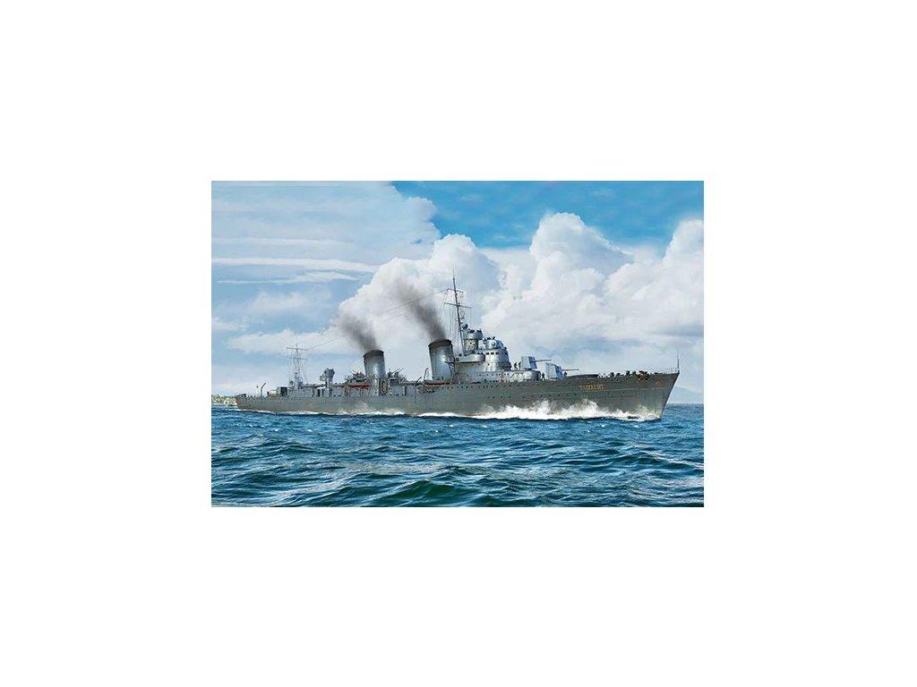 05356 Russian Destroyer Taszkient 1940