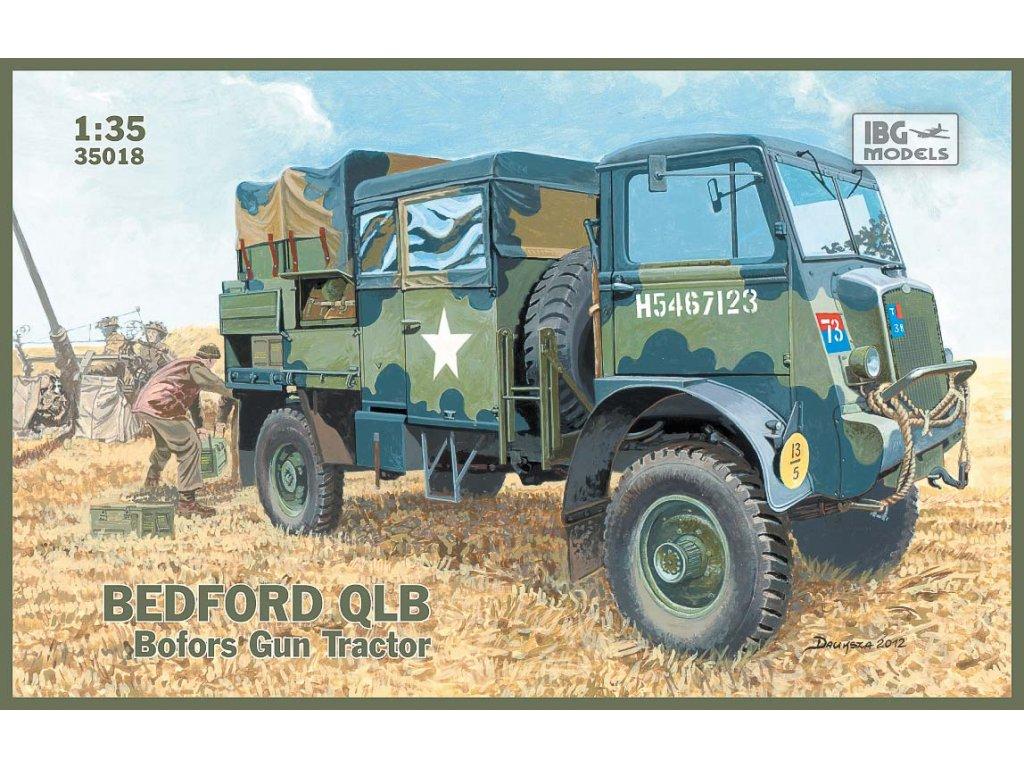 Bedford QLB Bofors Gun Tractor