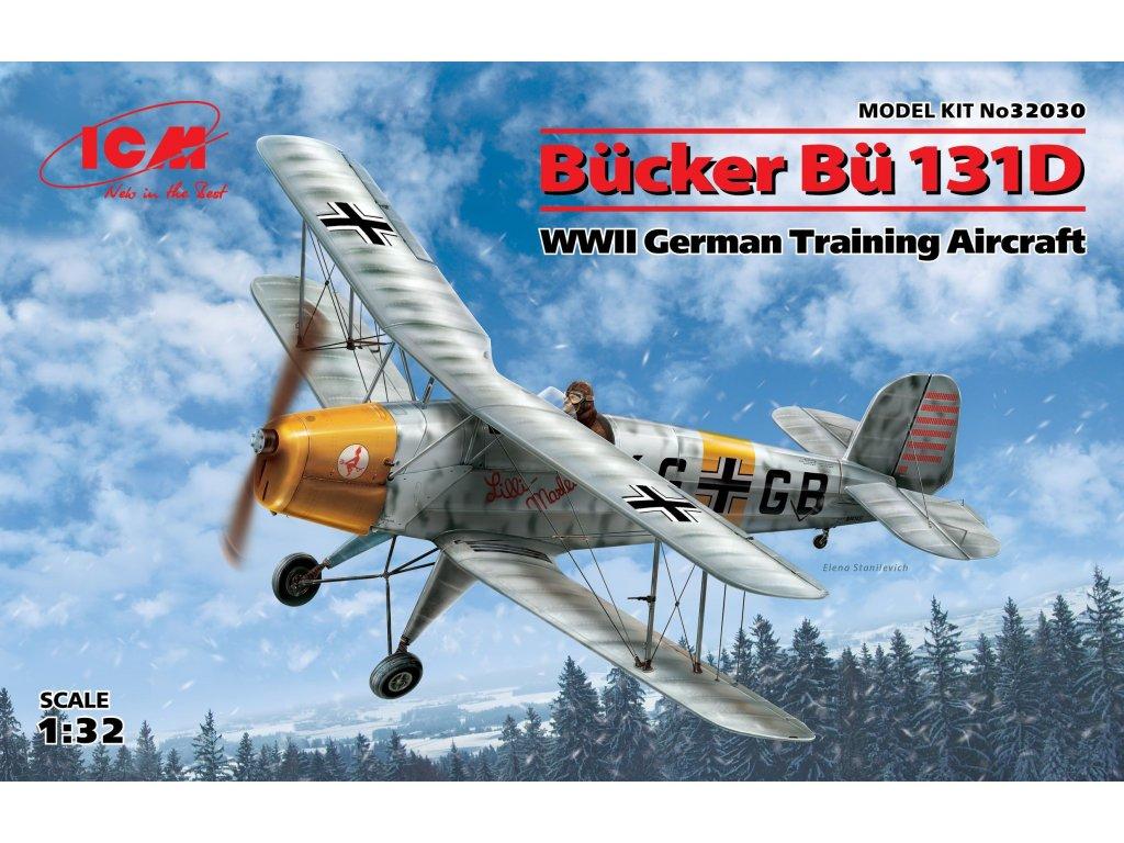 32030 Bücker Bü 131D German Training Aircraft