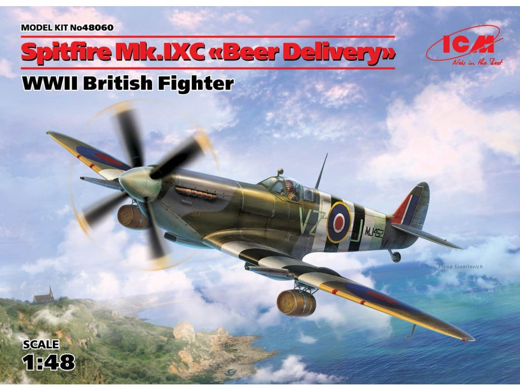 48060 Spitfire Mk.IXC Beer Delivery