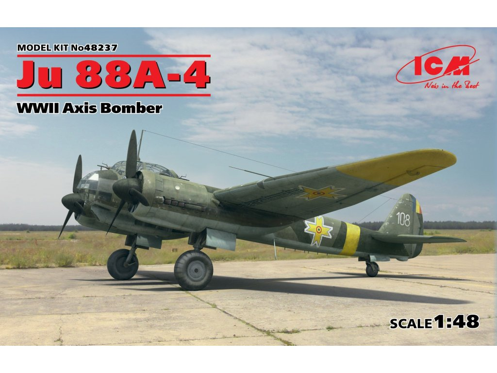 48237 Ju 88A 4 Axis Bomber